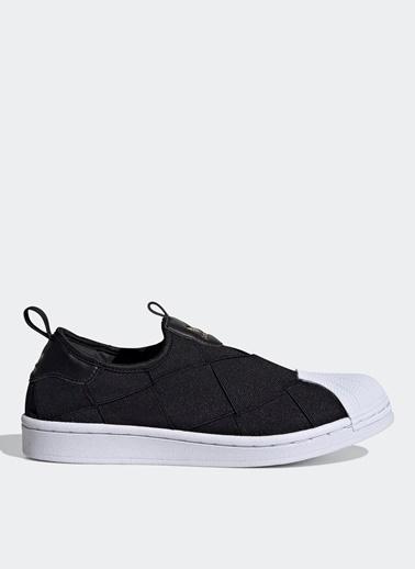 adidas adidas FV3187 Superstar Slip On W Lifestyle Ayakkabı Siyah